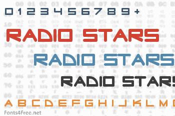 Radio Stars Font