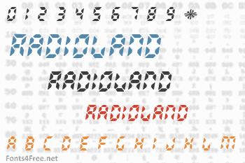 Radioland Font