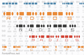 Radios in Motion Font