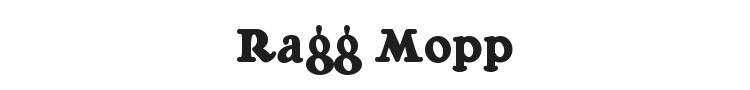 Ragg Mopp Font Preview