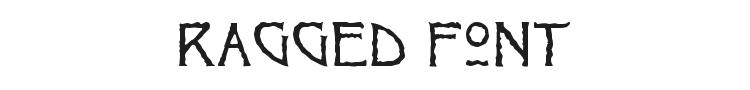 Ragged Font