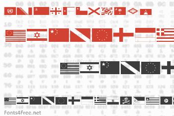 Raise Your Flag Font