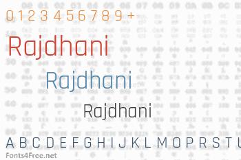 Rajdhani Font