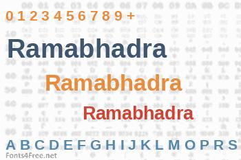 Ramabhadra Font
