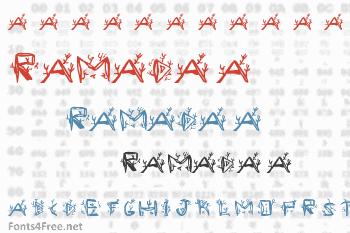 Ramada 1 Font