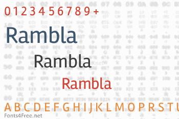 Rambla Font