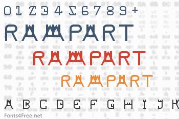 Rampart Font