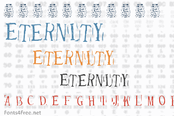 Randy Described Eternity Font
