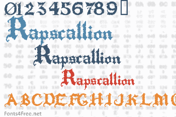 Rapscallion Font