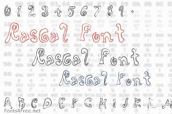 Rascal Font