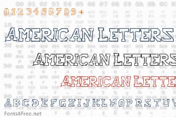 Raslani American Letters Font