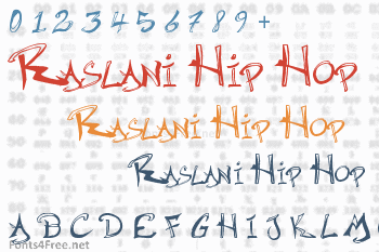 Raslani Hip Hop Font