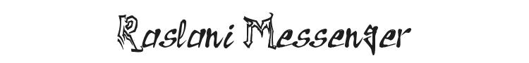 Raslani Messenger Font