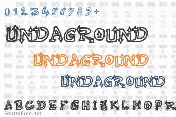 Raslani Undaground Font