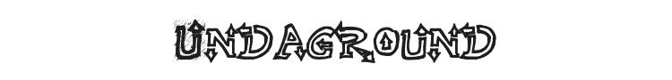 Raslani Undaground Font Preview
