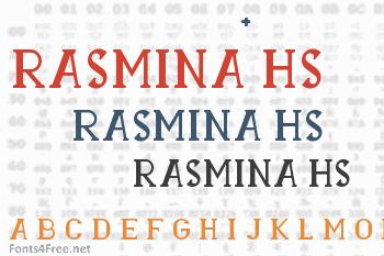 Rasmina HS 60 Font