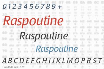 Raspoutine Font