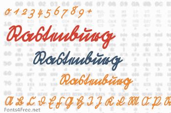 Rastenburg Font