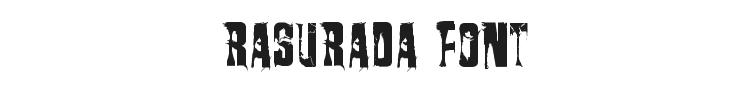 Rasurada Font
