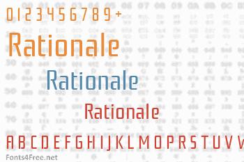 Rationale Font