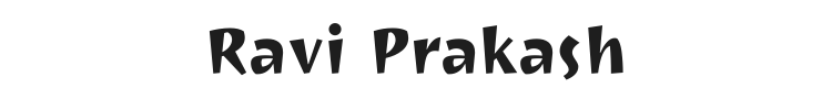 Ravi Prakash Font Preview