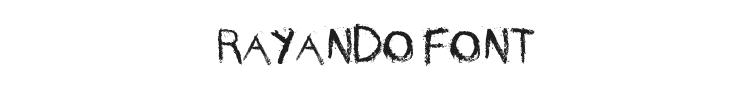 Rayando Font