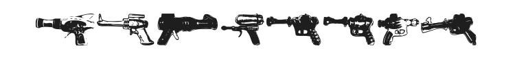 Rayguns Font