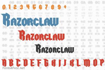 Razorclaw Font