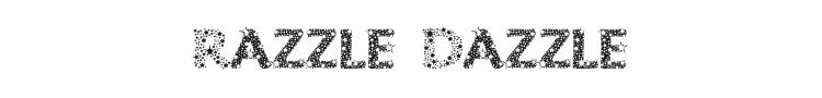 Razzle Dazzle Font Preview