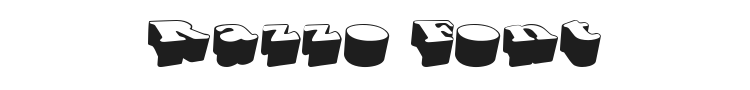 Razzo Font Preview