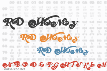 RD Honey Font