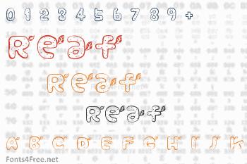 Reaf Font