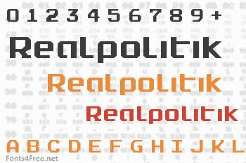 Realpolitik Font