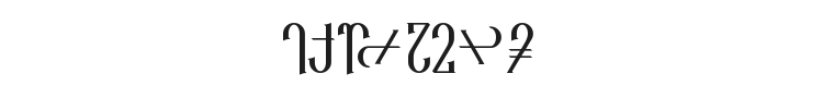 Reanaarian Font Preview