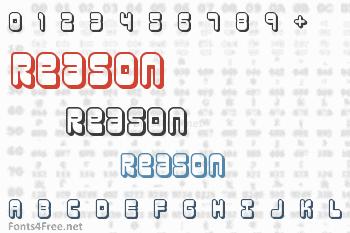 Reason Font