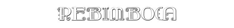 Rebimboca Font Preview