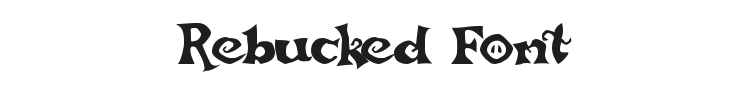 Rebucked Font Preview