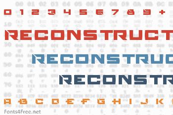 Reconstruct Font