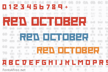Red October Font
