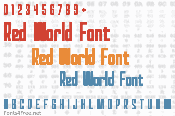 Red World Font