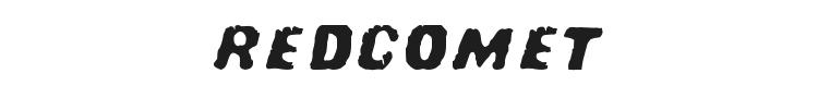 Redcomet Font