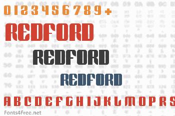 Redford Font