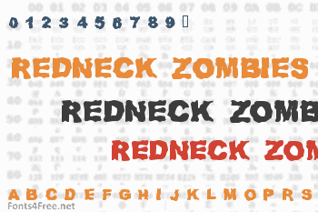 Redneck Zombies Font