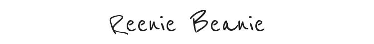 Reenie Beanie Font Preview