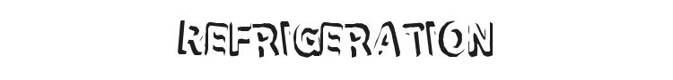 Refrigeration Font
