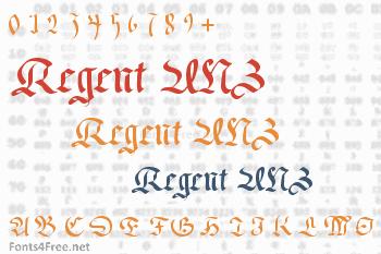 Regent UNZ Font