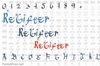 ReGifter Font
