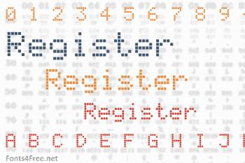 Register Font
