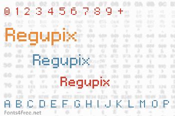 Regupix Font