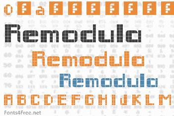 Remodula Font